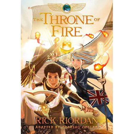 Kane Chronicles #2 Throne of Fire (Graphic Novel)