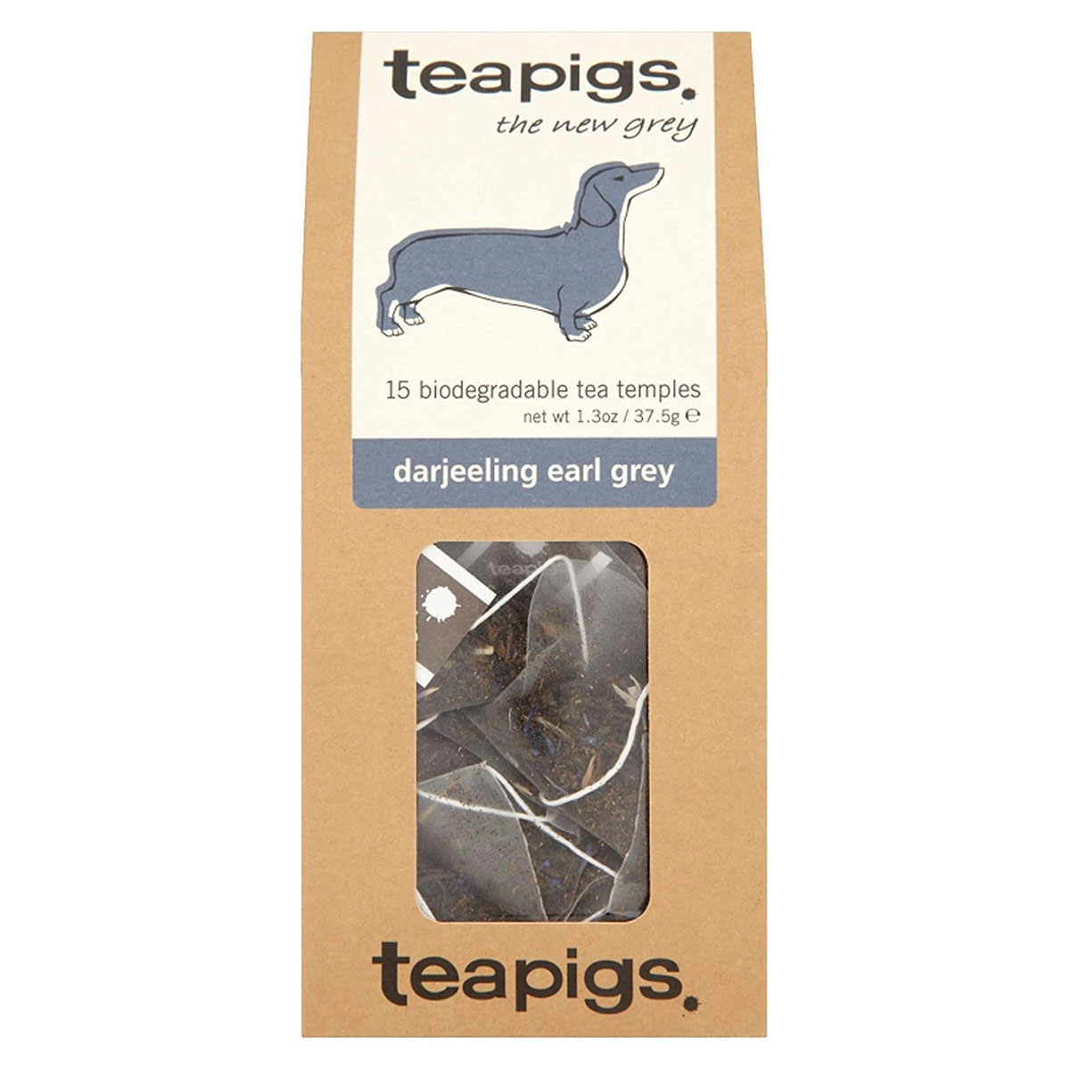 Teapigs Tea, Darjeeling Earl Grey - (Case of 6 - 15 ct)