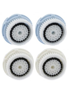 2 Delicate 2 Sensitive Replacement Facial Cleansing Brush Head for Clarisonic