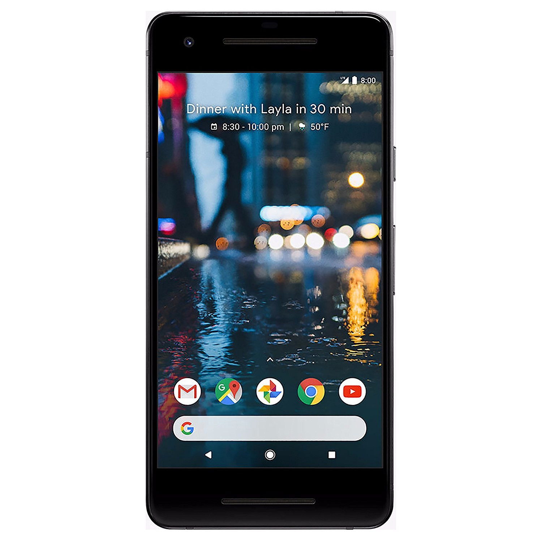 Refurbished Google Pixel 2 Factory Unlocked 64GB Black