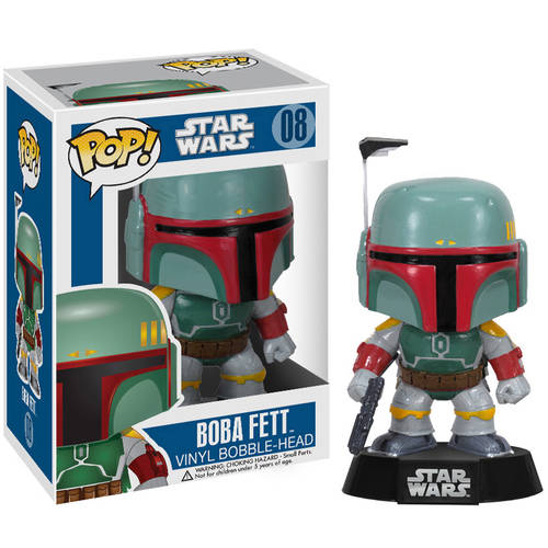 FUNKO Pop! Star Wars Boba Fett Vinyl Bobble Head Figure
