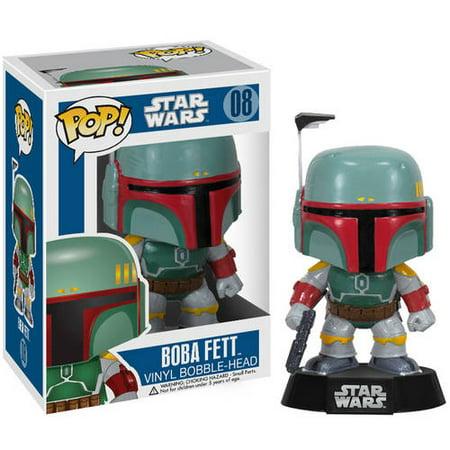 Funko Pop  Star Wars Boba Fett Vinyl Bobble Head Figure