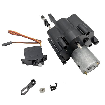Upgraded 2 Speed Gearbox with Shift Servo Spare Part For WPL B14/16/24 C14 C24