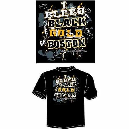 """Boston Hockey """"i Bleed Black & Gold - Go"""
