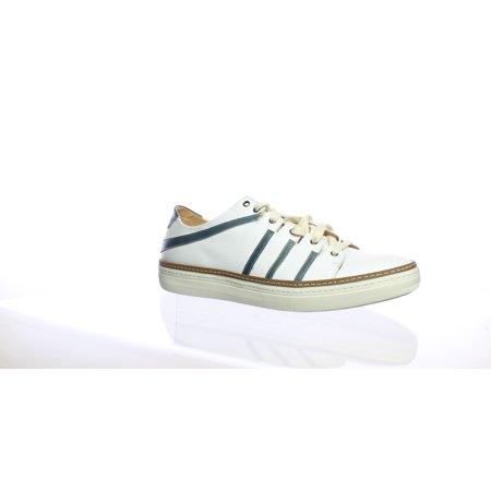 Mezlan Mens Tebas White/Jeans Fashion Sneaker Size (Mezlan Ostrich)