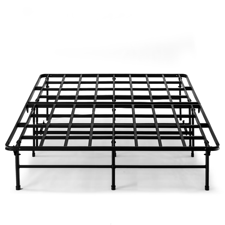 Best Price Mattress Titan 14 Inch Metal Quickbase Platform Bed Frame