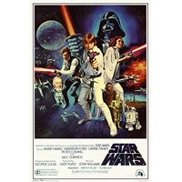 Star Wars - Episode IV New Hope - Classic Movie Poster 24x36in