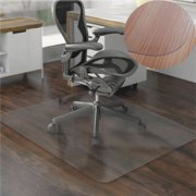 Ktaxon 36x48 Hard Wood Floor Home Office Pvc Mat Square For Rolling Chair