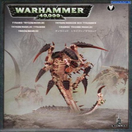 Tyranids Trygon Mawloc Box Plastic Warhammer 40k by Games Workshop