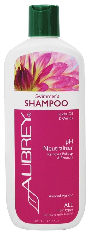 Aubrey Organics - Shampoo Swimmer's pH Neutralizer Almond Apricot - 11 oz.