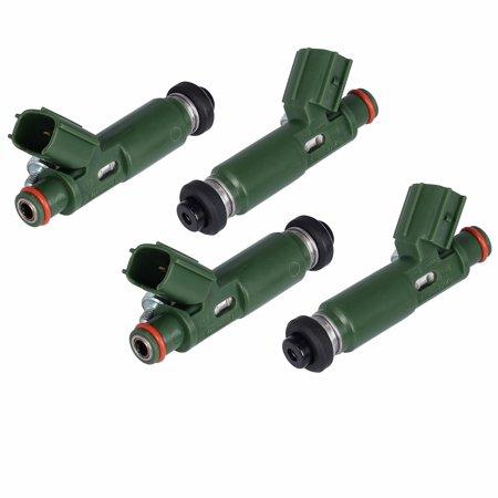 ESYNIC 4 Pcs Fuel Injectors Set for Toyota Chevy Prizm Matrix Corolla 1.8L 23250-22040 ()