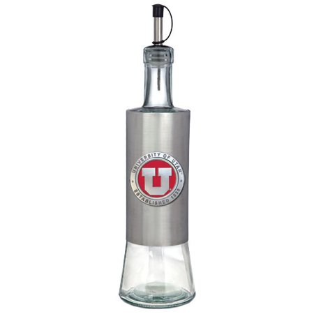 - Utah Utes Colored Logo Pour Spout Stainless Steel Bottle
