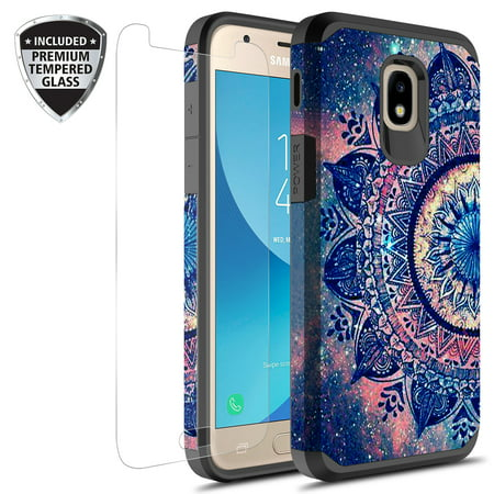 buy popular 0b527 45457 Samsung Galaxy J3 Achieve Case, J3 Star Case, Galaxy Express Prime 3 Case,  J3 2018 Case, J3 V 2nd Gen. Case, Amp Prime 3 2018 Hybird Graphic Case With  ...