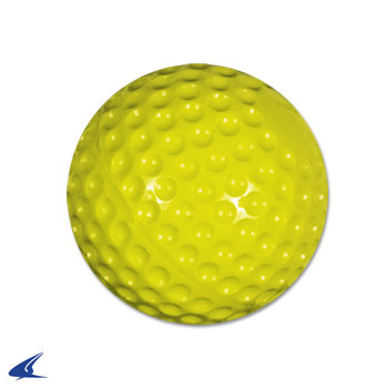 Dimple Molded Softball- 11'' Yellow