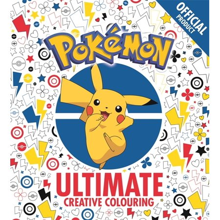 OFFICIAL POKEMON ULTIMATE CREATIVE COLOR](Pokemon Notebook)