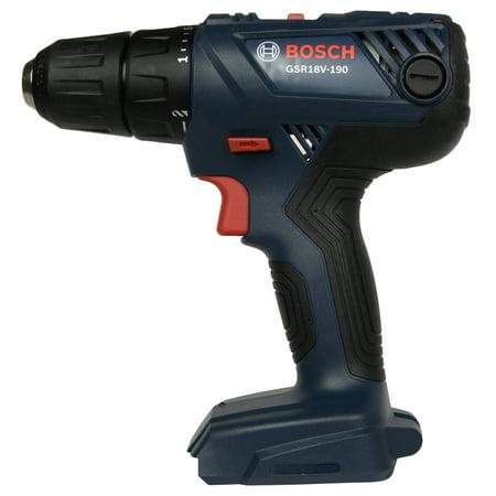 Bosch GSR18V-190 18V Li-Ion Compact Cordless Drill Driver - Tool Only (Panasonic 18v Cordless Drill)
