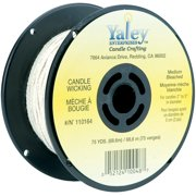 Candle Wicking Spool 75ydMedium Bleached