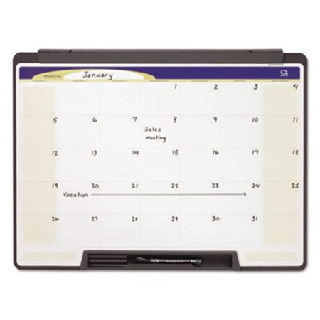 Quartet Motion Portable Monthly Calendar, Dry Erase, 24 x 18 (QRTMMC25)