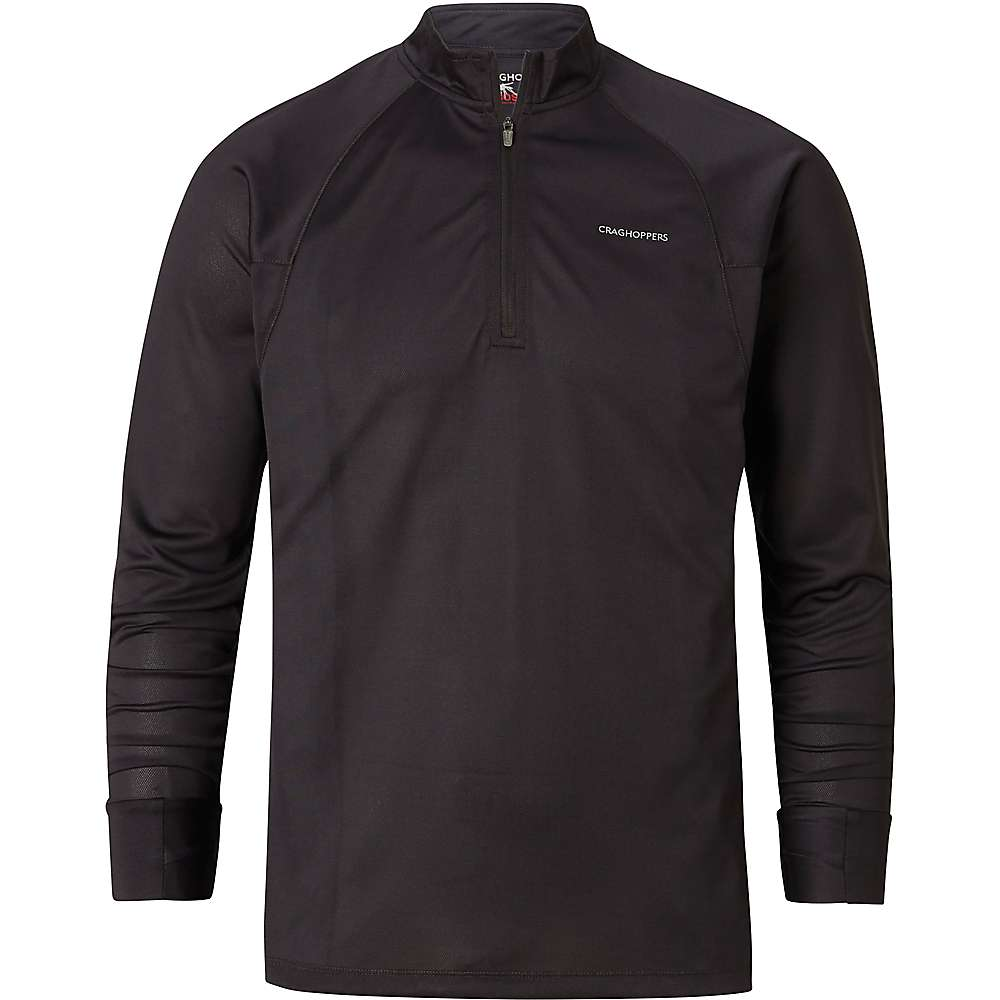 Craghoppers Men's NosiLife Nelson LS Half-Zip Top