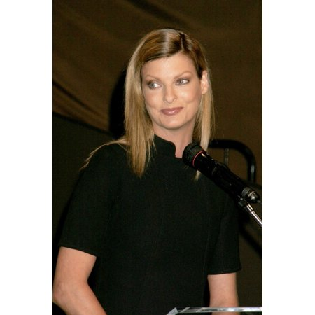Linda Evangelista At The Press Conference For Mac Cosmetics Announces Fashion For Relief Hurricane Benefit Ups Hub At Bryant Park Olympus Fashion Week New York Ny September 13 2005 Photo By Rob RichEv