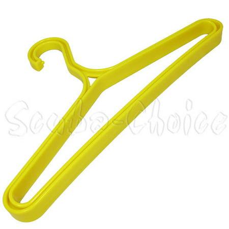- Scuba Choice Diving Heavy Duty BCD Wetsuit Drysuit Hanger, Yellow