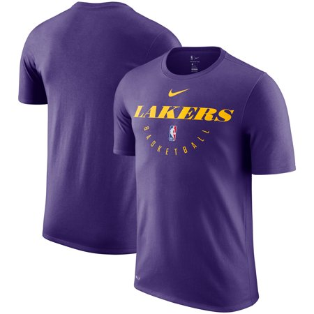 new product ad781 621d1 Los Angeles Lakers Nike Practice Legend Performance T-Shirt - Purple