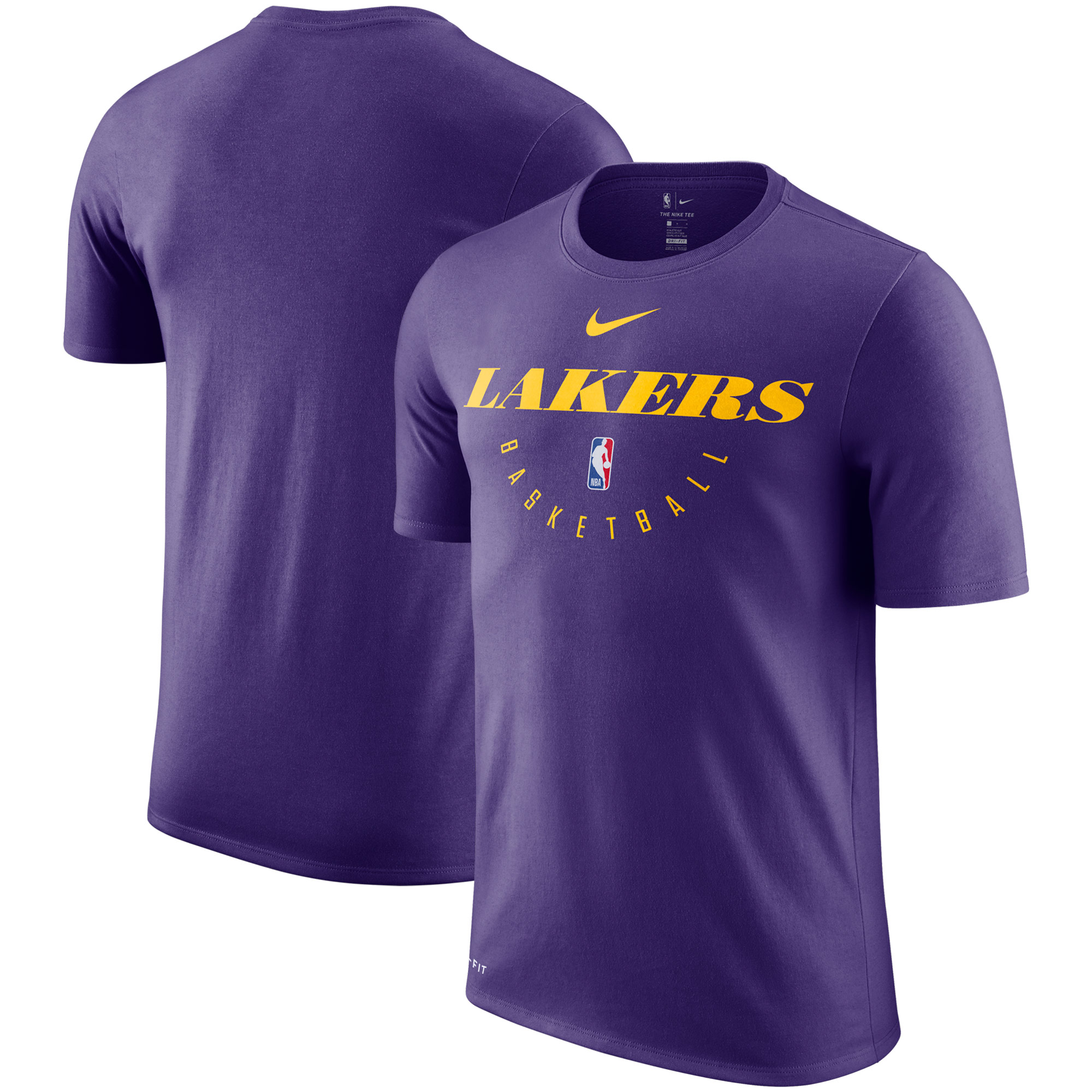 Los Angeles Lakers Nike Practice Legend Performance T-Shirt - Purple