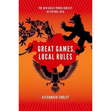Great Games  Local Rules  The New Great Power Contest In Central Asia