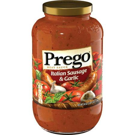 (2 Pack) Prego Italian Sausage & Garlic Meat Sauce, 44