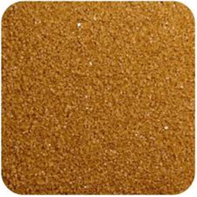 Sandtastik FL2809 Floral Colored Sand 28 oz. Bottle - Mocha Latte