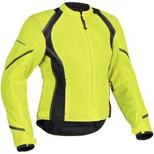Firstgear Women's Mesh Tex Jacket - Medium/DayGlo/Black FTJ.1307.03.W002 (Bag Firstgear)
