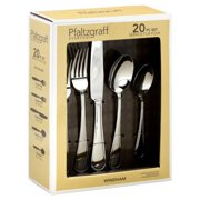 Pfaltzgraff 5047982 20 Piece Winds Flatware Set