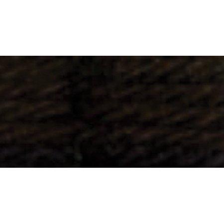 DMC Tapestry & Embroidery Wool 8.8yd-Ultra Very Dark Brown - image 1 of 1