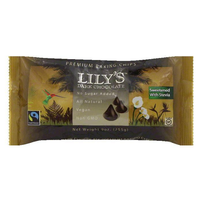 Lily's Sweets Premium Baking Chips, 9 Oz (Pack of 12) by