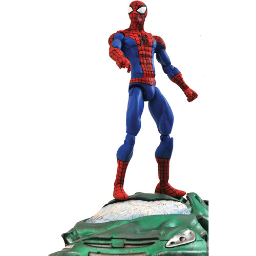 "Marvel Marvel Select Spider-Man 7"" Action Figure [With Car]"
