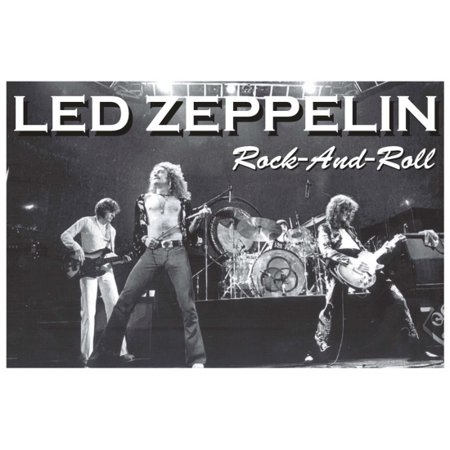 Led Zeppelin Rock N Roll Rock And Roll 2 Poster Poster