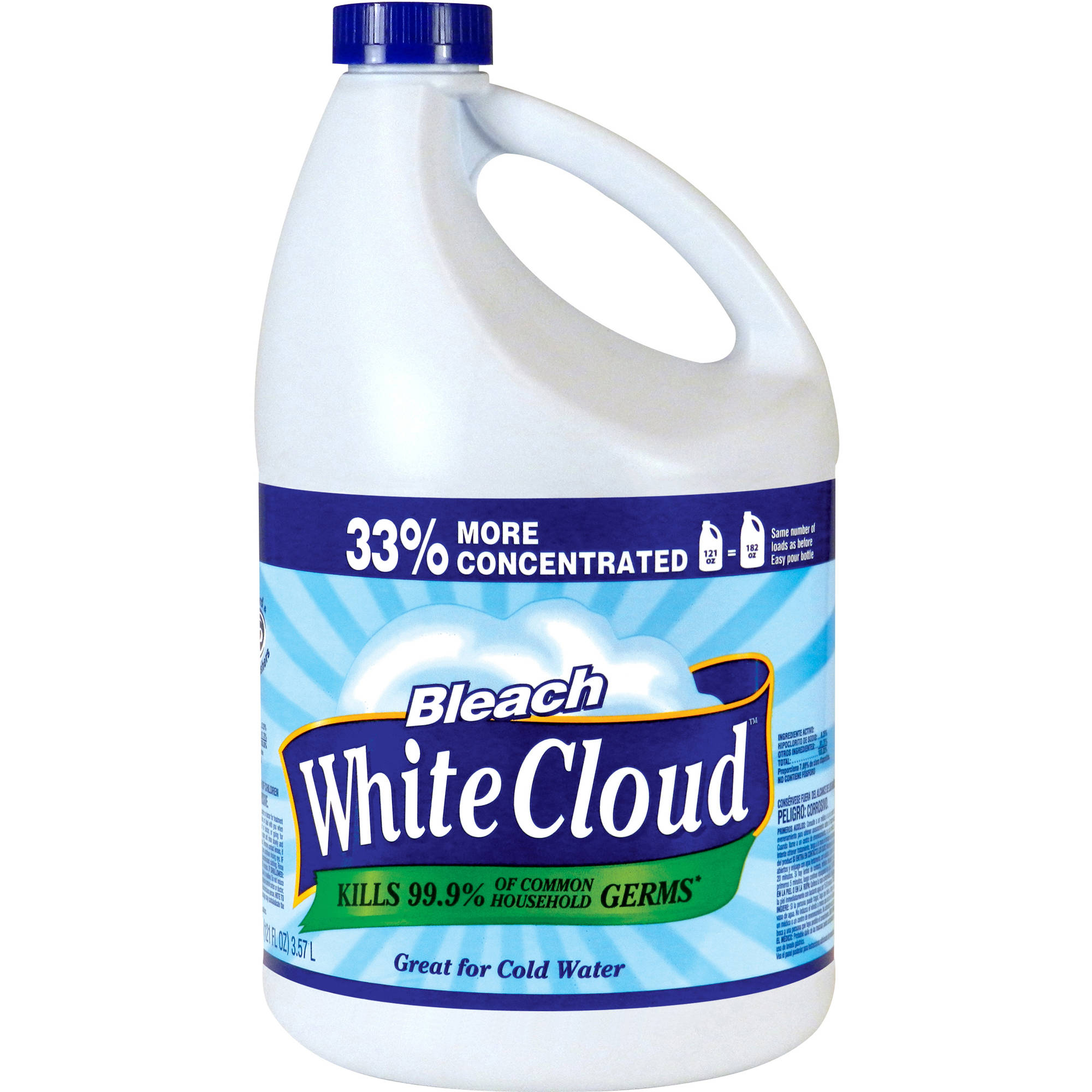 White Cloud Bleach, 121 fl oz
