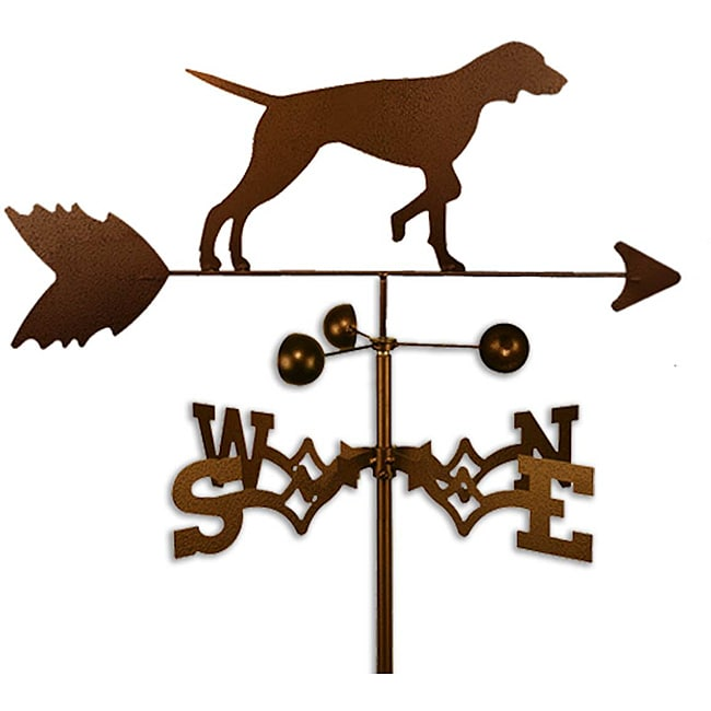 SWEN Products Inc Handmade English Pointer Dog Weathervane by Overstock