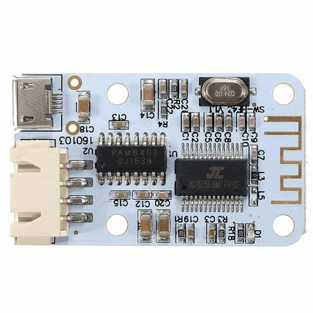 2x3W Micro USB Wireless bluetooth Speaker Audio Receiver Digital Amplifier