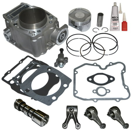 - Top Notch Parts Polaris Sportsman 500 Cylinder Piston Camshaft Rocker Arm Top End Kit 1996-2012