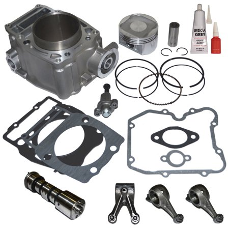 Top Notch Parts Polaris Ranger 500 Cylinder Piston Camshaft Rocker Arm Top End Kit 1999 - 2012