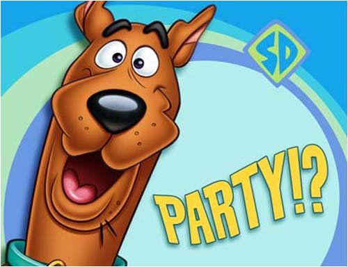 Scooby Doo Party Invitations 8 Pack Scooby Doo Party Invitations By