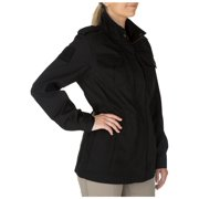 5.11 Tactical Women's Taclite M-65 Waterproof Jacket, UPF 50, Poly-Cotton Fabric, Peacoat, X-Large, Style 68000