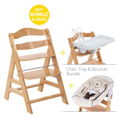 Alpha Chair Ultimate Bundle w/ Bouncer and Tray