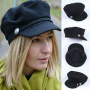 Fashion Women Beret Winter Warm Baggy Beanie Crochet Hat Slouch Ski Cap Hot Sales