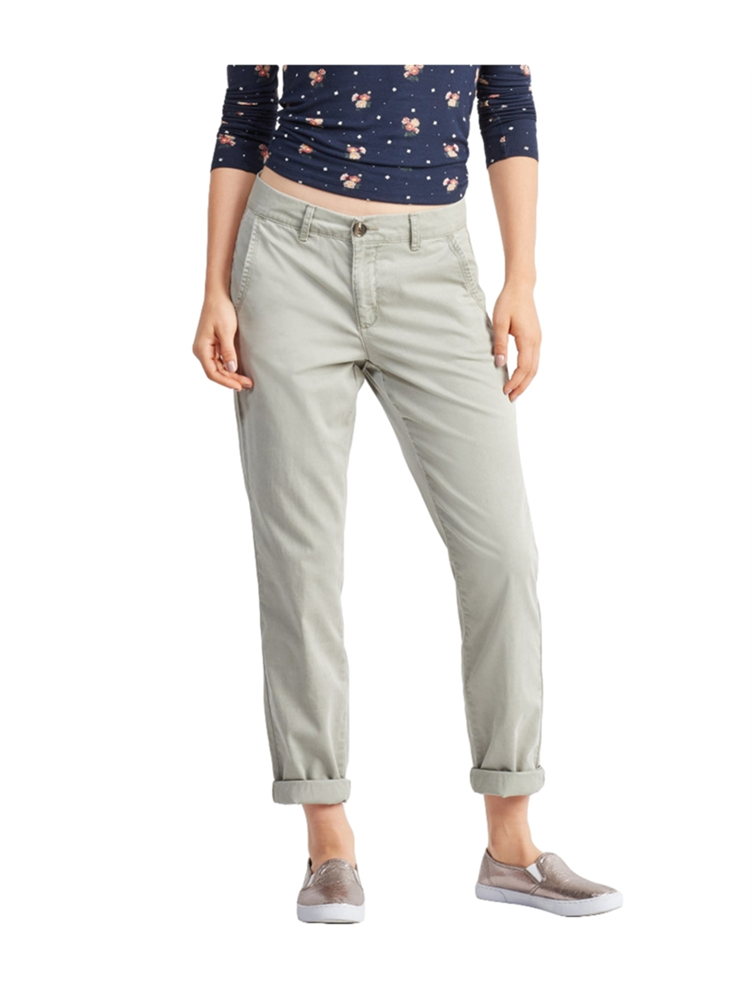 Aeropostale Juniors Chino Casual Trousers