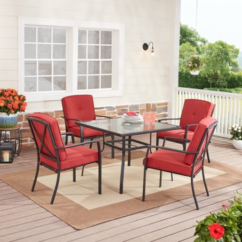 Mainstays Forest Hills 5 Piece Patio Dining Set