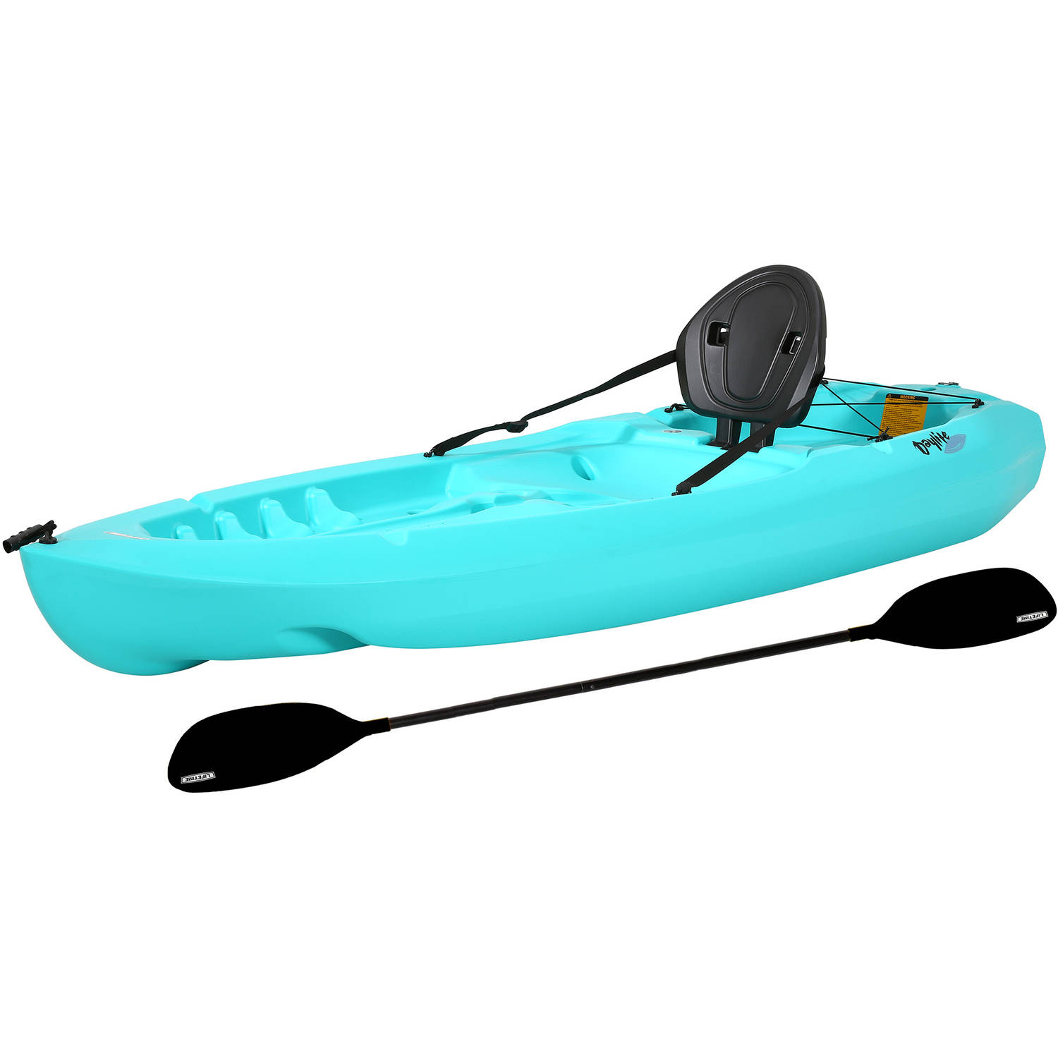 Lifetime Daylite Kayak, Aqua, and Paddle, 90811 by Lifetime Products