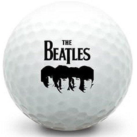 3 Dozen Callaway Super Soft (Beatles Fab Four Logo) Expression Golf - 3 Logo Balls