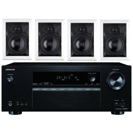 Onkyo 5 2 Channel Full 4K Bluetooth AV Home Theater Receiver + Boston  Acoustics 6-1/2